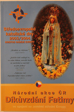 Díkůvzdání Fatimy obálka knihy