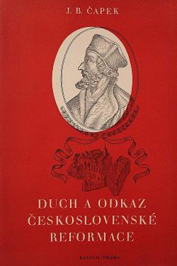 Duch a odkaz československé reformace obálka knihy