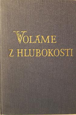 Voláme z hlubokosti obálka knihy