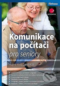 Komunikace na počítači pro seniory obálka knihy