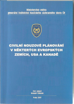 Civilní nouzové plánování v některých evropských zemích, USA a Kanadě obálka knihy