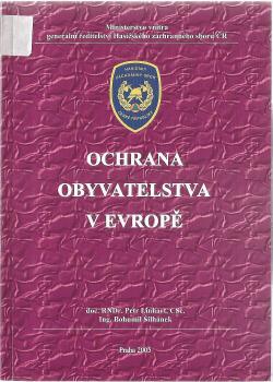 Ochrana obyvatelstva v Evropě obálka knihy