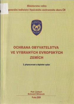Ochrana obyvatelstva ve vybraných evropských zemích obálka knihy
