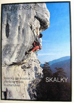 Slovenské Skalky : lezecký sprievodca obálka knihy
