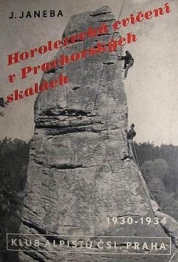 Horolezecká cvičení v Prachovských skalách obálka knihy