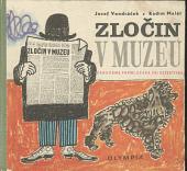 Zločin v muzeu obálka knihy