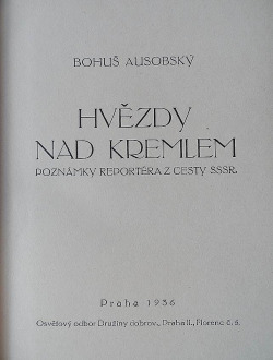 Hvězdy nad Kremlem obálka knihy