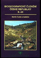 Biogeografické členění České republiky II. díl obálka knihy