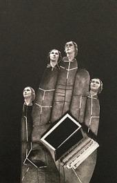 Obrazový atlas dívky, která rozřezala knihovnu na části obálka knihy