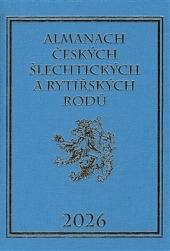Almanach českých šlechtických a rytířských rodů 2026 obálka knihy