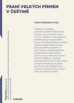 Psaní velkých písmen v češtině obálka knihy