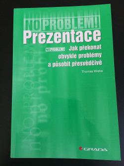 Prezentace - Jak překonat obvyklé problémy a působit přesvědčivě obálka knihy