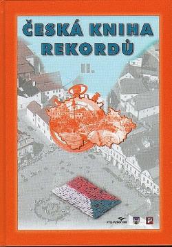 Česká kniha rekordů II. obálka knihy