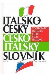 Italsko-český česko-italský slovník obálka knihy