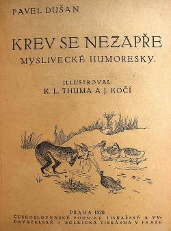 Krev se nezapře - myslivecké humoresky obálka knihy