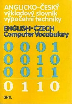 Anglicko-český výkladový slovník výpočetní techniky obálka knihy