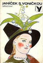 Janíček s voničkou -Tři bílé růže obálka knihy