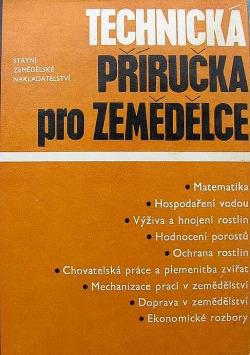 Technická příručka pro zemědělce obálka knihy
