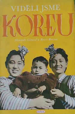 Viděli jsme Koreu obálka knihy