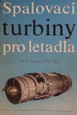 Spalovací turbíny pro letadla obálka knihy