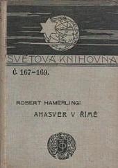 Ahasver v Římě obálka knihy