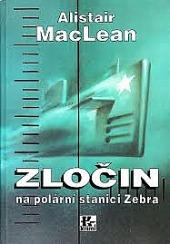 Zločin na polární stanici Zebra obálka knihy