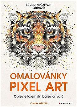 Omalovánky Pixel Art obálka knihy