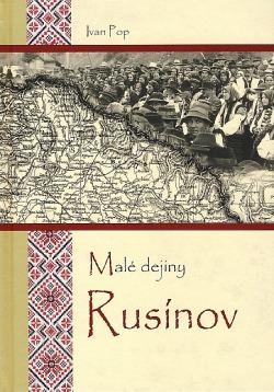 Malé dejiny Rusínov obálka knihy