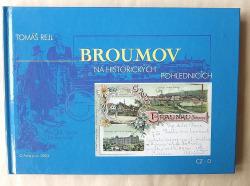 Broumov na historických pohlednicích obálka knihy