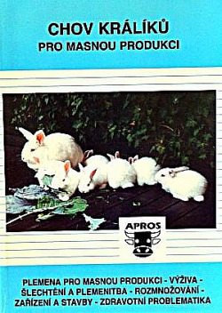 Chov králíků pro masnou produkci obálka knihy