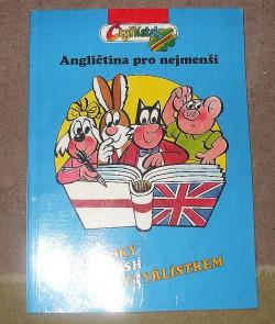 Čtyřlístek Angličtina pro nejmenší obálka knihy