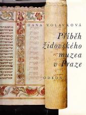 Příběh židovského muzea v Praze obálka knihy