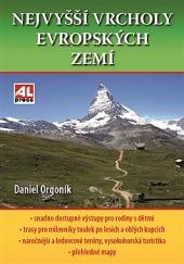 Nejvyšší vrcholy evropských zemí obálka knihy