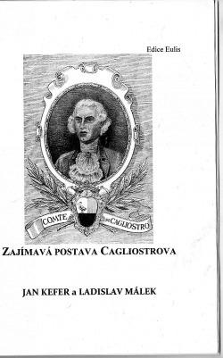 Zajímavá postava Cagliostrova obálka knihy