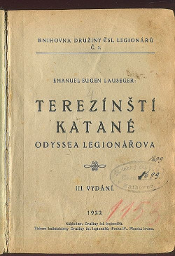 Terezínští katané obálka knihy