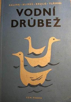 Vodní drůbež obálka knihy