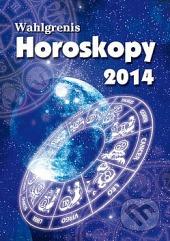 Horoskopy 2014 obálka knihy