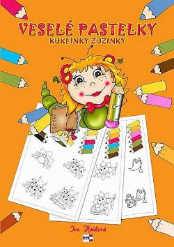 Veselé pastelky kuklinky Zuzinky obálka knihy