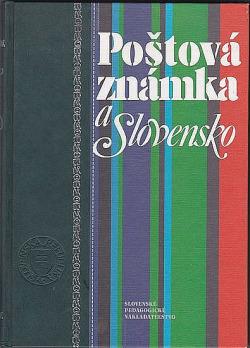Poštová známka a Slovensko obálka knihy