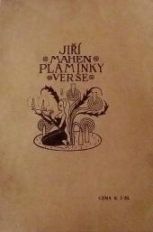 Plamínky verše obálka knihy