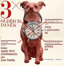 3x Oldřich Daněk obálka knihy