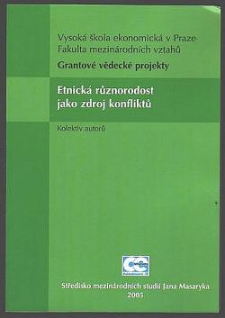 Etnická různorodost jako zdroj konfliktů obálka knihy