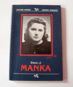 Říkali jí Manka obálka knihy