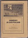 Obrázky ze zašlých dob obálka knihy