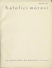 Katolíci moroví obálka knihy