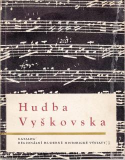 Hudba Vyškovska obálka knihy
