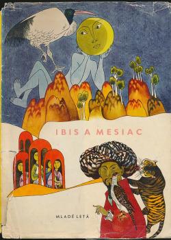 Ibis a mesiac obálka knihy