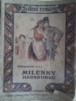 Milenky Habsburků v 19. stoleté obálka knihy
