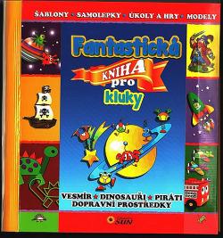 Fantastická kniha pro kluky obálka knihy