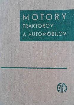 Motory traktorov a automobilov obálka knihy